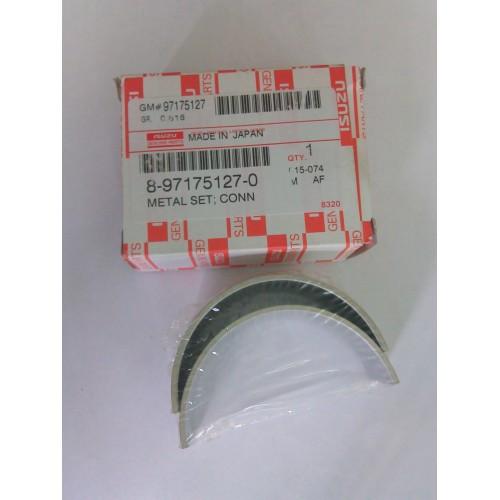 Вкладиші шатунні ISUZU 4HG1/4HG1T 0.25 E1/E2 (8971751270/R801H025) ISUZU