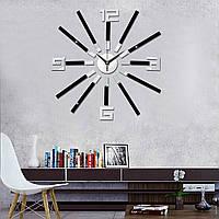 DIY настенные часы современного искусства 3D самоклеющиеся наклейки дизайн для домашнего офиса декора