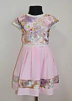 Детский сарафан или платье для девочек, нарядное, летнее, фото 1