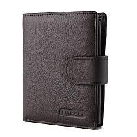 """Кожаный кошелек для авто документов """"Avto"""" коричневый, фото 1"""