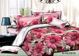 """Полуторный комплект постельного белья 150х220 из ранфорса """"Океан цветов"""""""