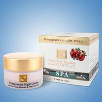 Гранатовый ночной крем для лица Health&Beauty