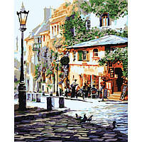 Картина по номерам Уютное кафе 40 х 50 см Идейка КН2150