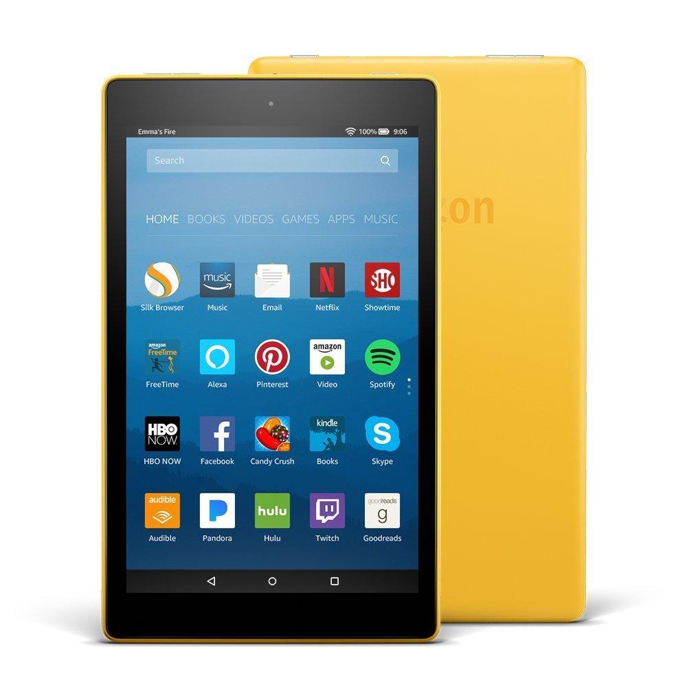 Планшет Amazon Kindle Fire HD 8 желтый - Интернет-магазин BaRRmaley.com в Одессе
