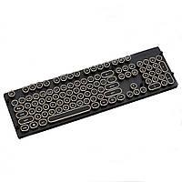 104 ключа Золотая круглая стимпанк ретро круглая механическая клавиатура Keycaps