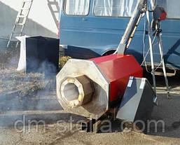 Пеллетный предтопок 500 кВт (пеллетная горелка высокой мощности) DM-STELLA, фото 3