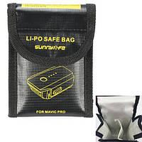 Двойной Lipo Аккумуляторы Safe Сумка Огнестойкое взрывозащищенное хранилище Сумка для DJI Mavic PRO