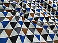 Сатин (хлопковая ткань) треугольники, фото 2