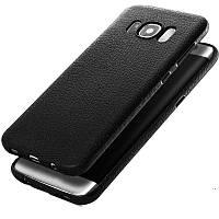 Soft TPU Силиконовый Ультра тонкая ударопрочная кожаная обложка для кожи Чехол для Samsung Galaxy S8