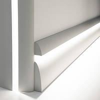 Плинтус, карниз для скрытого освещения, молдинг Orac Decor  C373, 200 x 8 x 4.9 cm