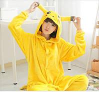 Пижама кигуруми женская и мужская Пикачу