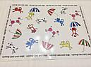 Коврик под миски зонтики Croci 43x32 см для собак и кошек, фото 3