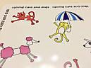 Коврик под миски зонтики Croci 43x32 см для собак и кошек, фото 5