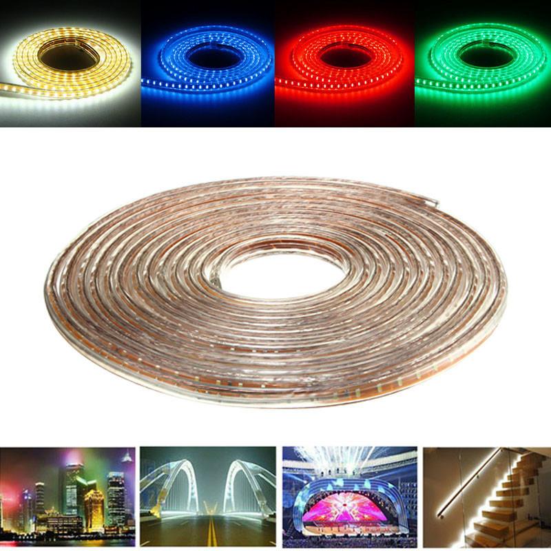 10М SMD3014 Водонепроницаемый LED Rope лампы Party Главная Рождество Indoor / Outdoor Strip Light 220 -1TopShop