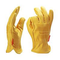OZERO Мужская работа Перчатки Защита кожи козырева Безопасность Резка Рабочая ремонтная машина Гаражные гоночные перчатки