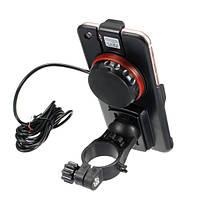 4.7-дюймовый телефон GPS Держатель USB аккумуляторная Водонепроницаемы Кронштейн W / Компас для электрических Авто мотоцикл