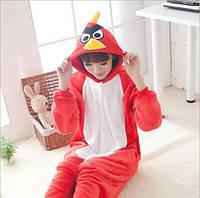 Пижама кигуруми женская и мужская Angry Birds