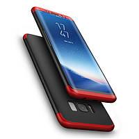 Bakeey ™ 3 в 1 Double Dip 360 ° Полная защита корпуса Чехол для Samsung Galaxy S8 5.8 '' Твеодое PC покрытие