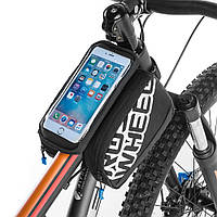 ROSWHEEL 5.5 inch Tough Screenn Bicycle Трубка Сумка Pack Велоспорт Телефон Сумки Чехол Аксессуары для велосипедов