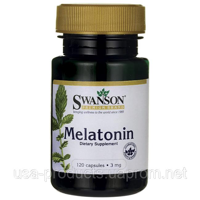 Мелатонин 3 мг 120 капсул США