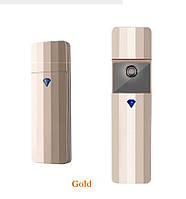 Небулайзер золотой для ресниц USB (Нано увлажнитель)