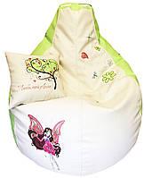 Детское Кресло бескаркасное мешок-пуф груша Winx, фото 1