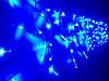 Гирлянда светодиодная Бахрома LED синий 108 л. 2.2x0.5 м (8 режимов), фото 3