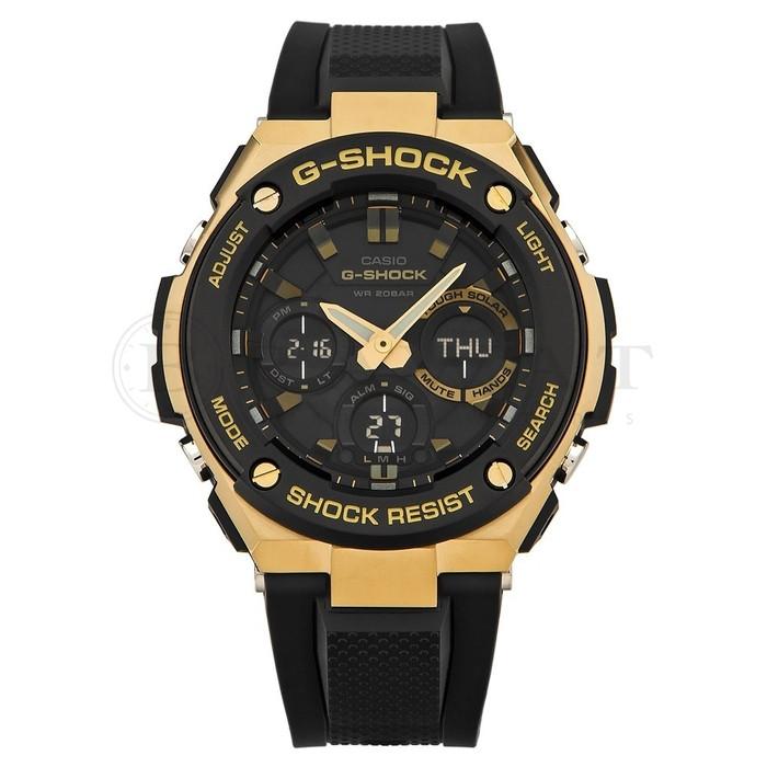 Часы Casio G-Shock G-Steel GST-S100G-1 TOUGH SOLAR В.
