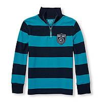 Синий свитер 3-6 лет