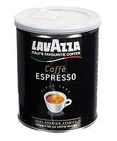 Натуральный молотый кофе Lavazza espresso  банке 250 грамм