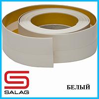 Белый напольный плинтус, 20 мм х 30 мм