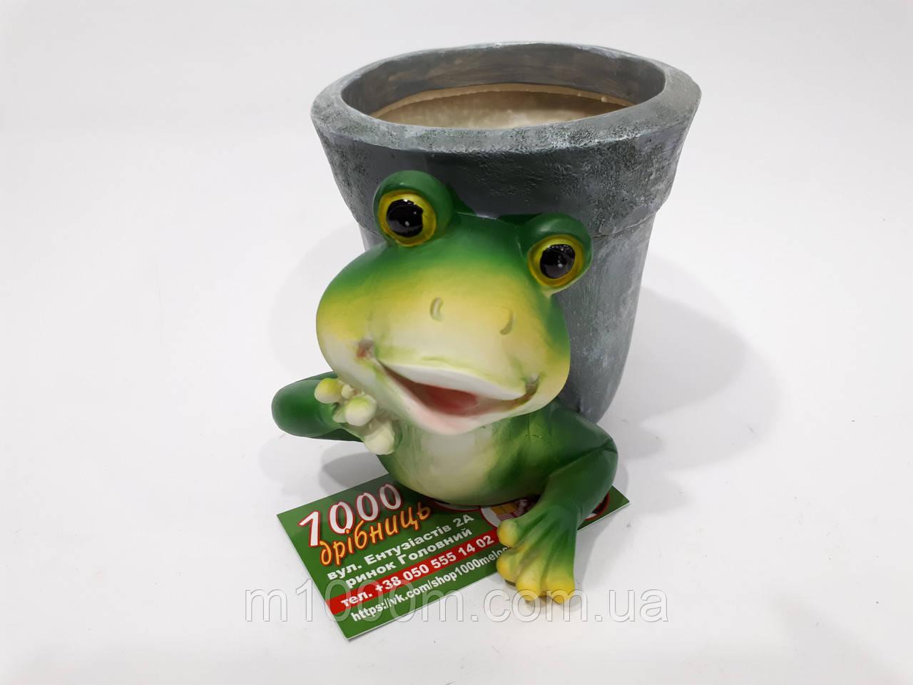 Кашпо лягушка К4.022
