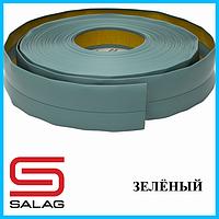 Плинтус мягкий напольный, 20 мм х 30 мм, Зелёный