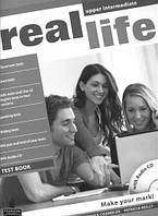 Real Life Upper-Intermediate Test Book + CD