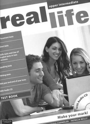 Real Life Upper-Intermediate Test Book + CD, фото 2