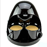 220В 350 Вт кофе-машина эспрессо-чайник Полностью автоматическая 2 чашки Американский кофейный латте