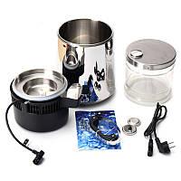 220V 304 Нержавеющая сталь Дистиллятор для воды 4L Чистый фильтр для очистки воды EU Стандартная кухонная техника