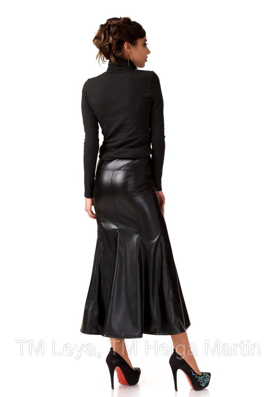 d09ce5514c6 Кожаная юбка-годе. Ю089  продажа