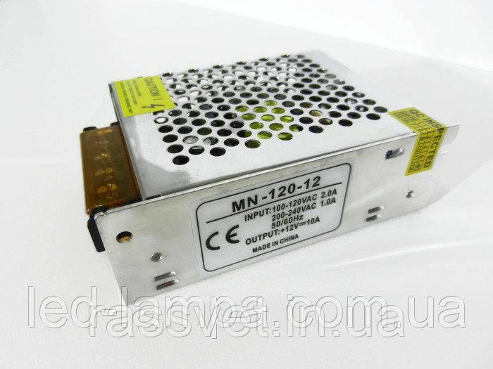 Блок живлення MN-120-12 12В 10А 120Вт