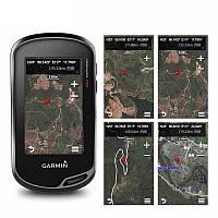 Garmin Oregon750 Handheld GPS навигации Профессиональный Открытый сенсорный экран локатора GPS и ГЛОНАСС Спутниковый Барометр 3 оси электронный компас