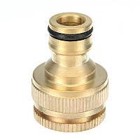 1/2 и 3/4 дюймов Адаптер для латунного крана для женской стиральной машины Water Tap Шланг Quick Коннектор