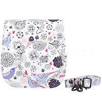 Кожа PU мультфильм камера сумка Обложка для Fuji Fujifilm INSTAX Mini8 ремень