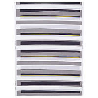 IKEA SEBRAGRAS Ткань, белый / черный, желтый  (602.863.92)