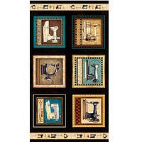 Ткани для печворка, коллекция Mrs. Sew & Sew, RJRFabric, Dan Morris. Артикул: 0420-01. За 55 пог. см. - 115грн. Ширина 110 см.