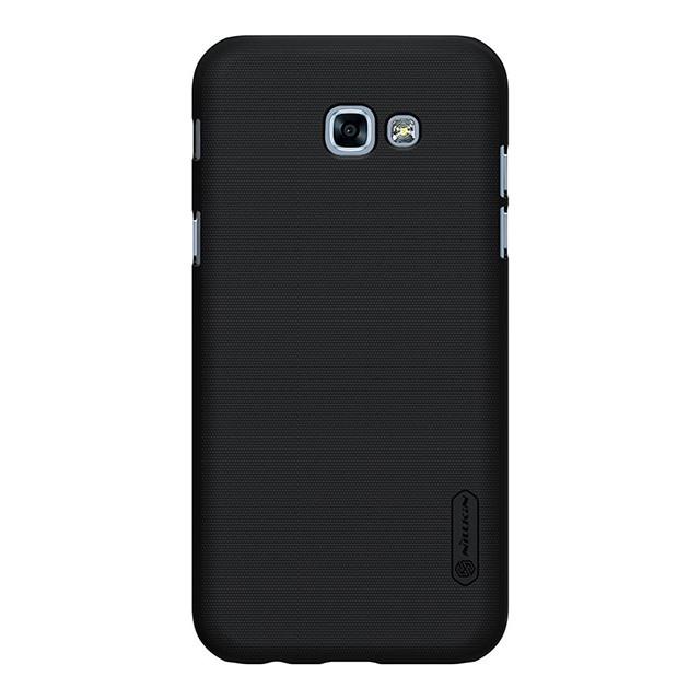 Чехол NILLKIN для Samsung A3(2017)/A320 - Frosted Shield Black (6328415)