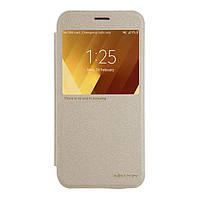 Чехол NILLKIN для Samsung A3(2017)/A320 - Spark series Gold (6328413)