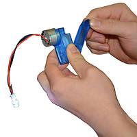 6V Mini Hand Двигатель Мотор Haft Механический Генератор DIY Части для игрушек