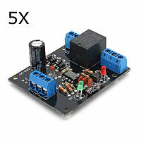 5Pcs 12V DC Переключатель уровня воды Датчик Контроллер Бак для воды Башенный автоматический дренаж