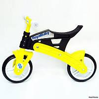 Беговел Royal Baby KB7500, черно-желтый