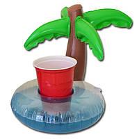 IPRee™InflatableMiniCutePlamtrees Drink Can Holder Плавающее плавание Бассейн Ванна Пляжный Водные игрушки